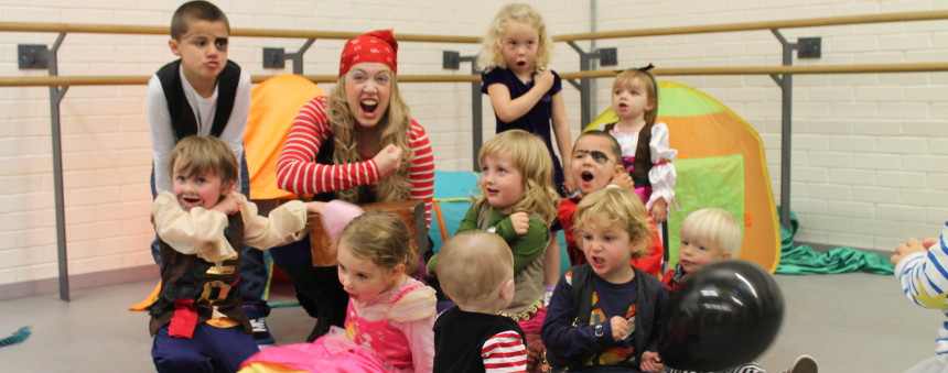 Childrens Parties Dance City - Children's birthday experiences
