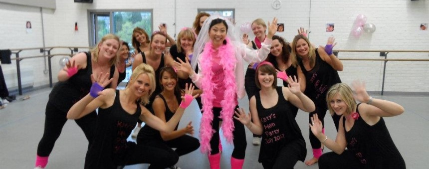 Hen parties at Dance City