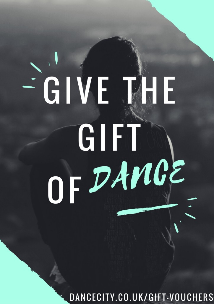 Give the gift of dance the perfect opportunity to treat your friends and family to something special.