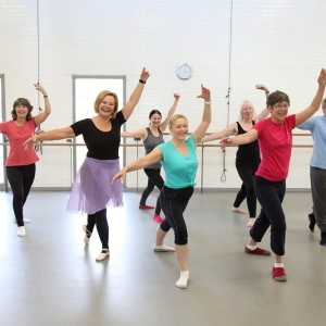 Dance City Over 55 Ballet Class Participants