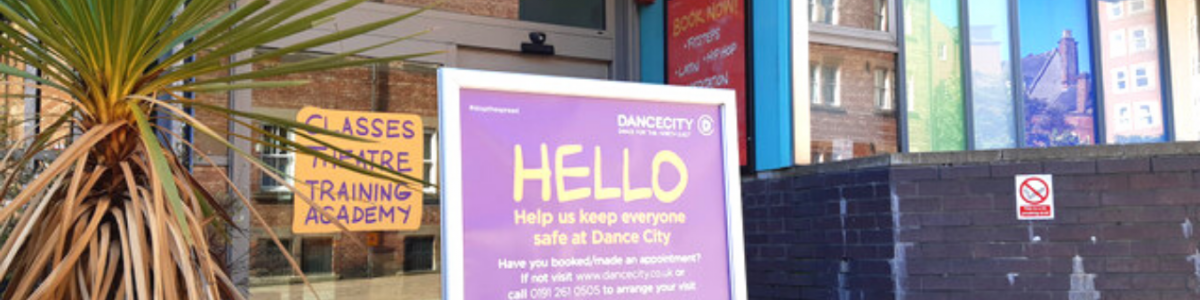 Stay safe at Dance City